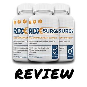What is RDX Surge Male Enhancement Pills? RDX Surge