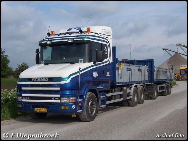 BN-PR-33 Scania 164G 480 Kremer zand Exlooo-Border archief