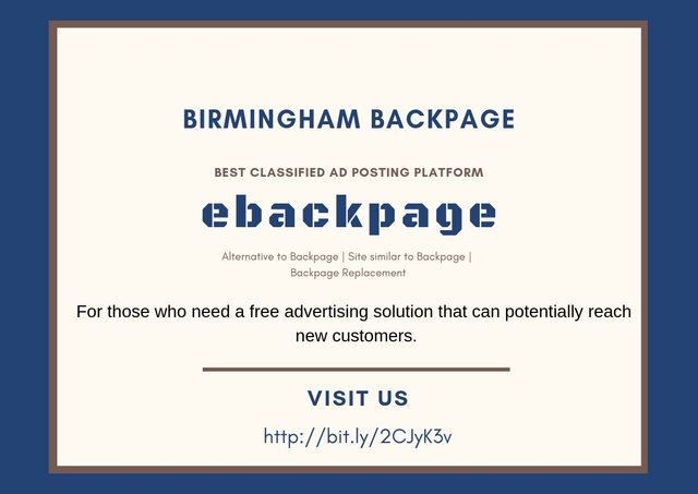 Birmingham Backpage (ebackpage) Birmingham Backpage – Best classified ad posting platform