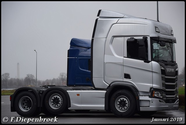 Nwe Scania R500 Next Gen-BorderMaker 2019