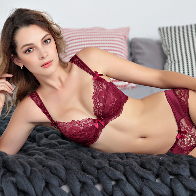 Hot-Sale-Sexy-Lace-Women-Underwear-Set-Ultra-Thin- MiraEssence