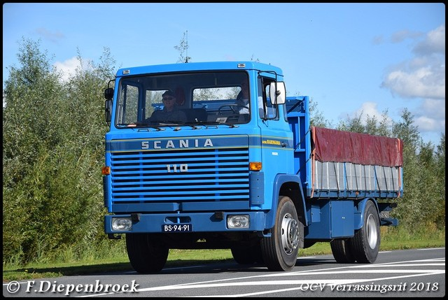 BS-94-91 Scania 110 Gebr Haringsma-BorderMaker OCV Verrassingsrit 2018