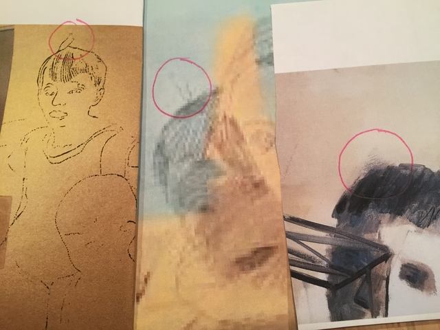 "302 Andy-Warhol's (Blue Blotch) Early 1960's Andy Warhol Painting's- ""A Gold Marilyn Comparable Background. ""EVIDENCE RESEARCH WEBSITE"" Viewing Only"
