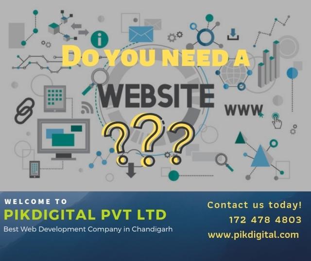 Best Web Development Company in Chandigarh - PikDi Picture Box