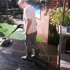 John terras schoonmaak in f... - In de tuin 2019