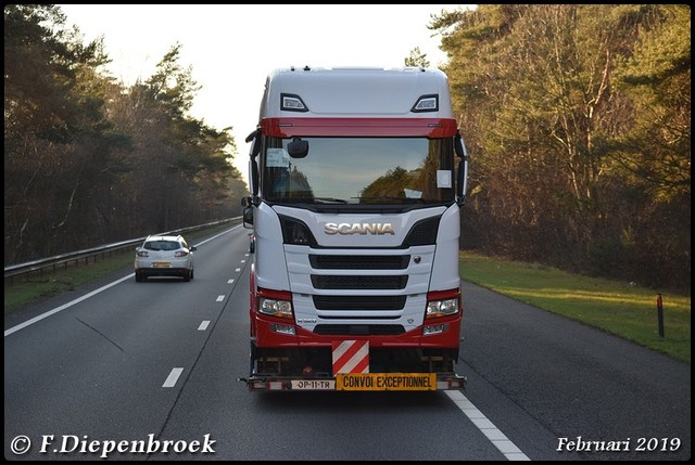 Scania R520-BorderMaker Rijdende auto's 2019