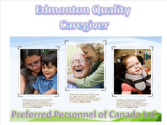 Caregiver Agencies Calgary Nanny Services Alberta