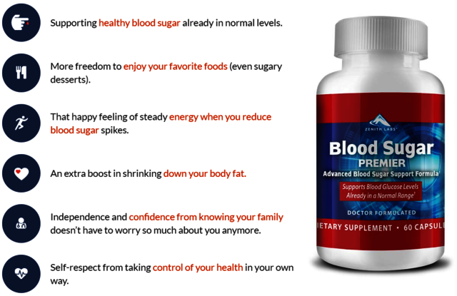 What Benefits you will get from Blood Sugar Premie Sugar
