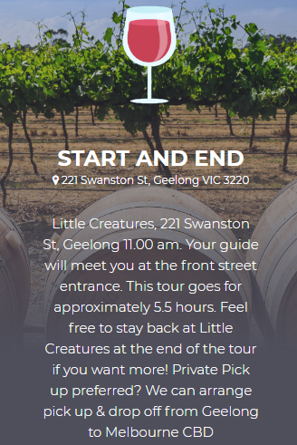 Geelong Wine Tours - Adventure With Andys Trails | Geelong wine tours
