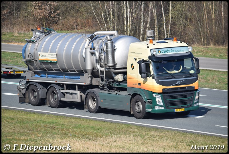 81-BHP-2 Volvo FM Olthuis Recycling-BorderMaker - Rijdende auto's 2019