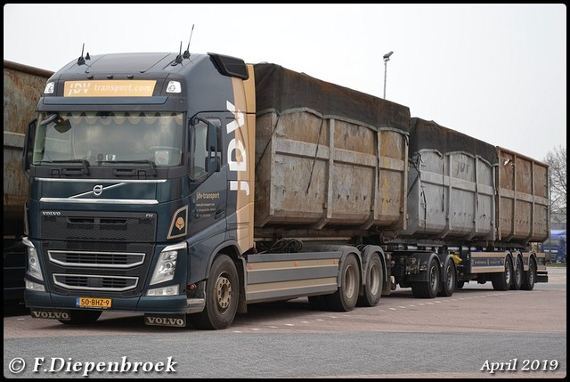 50-BHZ-9 Volvo FH4 JDV Transport-BorderMaker 2019