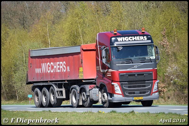 64-BBX-8 Volvo FH4 Wigchers-BorderMaker - Rijdende auto's 2019