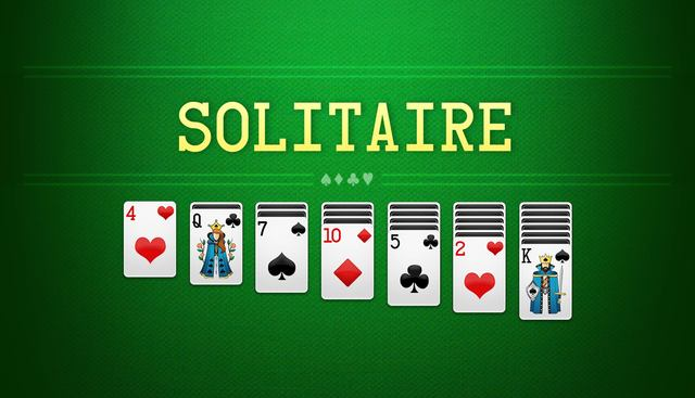 Solitaire card games Picture Box