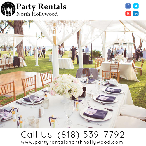 Party Rentals North Hollywood | Call Now  (818) 5 Picture Box