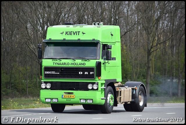 83-BJR-4 DAF 3300 Kievit-BorderMaker Retro Trucktour 2019