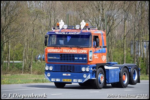 BH-95-RY DAF 3600 Verweij Trucking-BorderMaker Retro Trucktour 2019