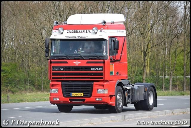 BL-VG-06 DAF XF Zijderlaan-BorderMaker Retro Trucktour 2019
