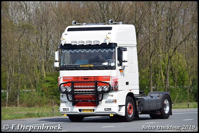 BP-HT-88 DAF XF-BorderMaker Retro Trucktour 2019