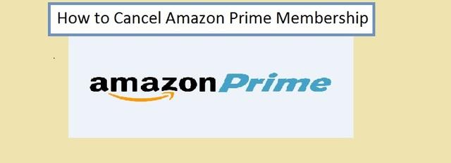 How to Cancel Amazon Prime Membership Amazon prime cancel membership