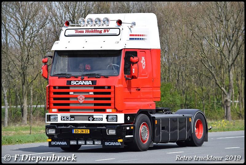 BD-JN-32 Scania 143 Tom Holding-BorderMaker - Retro Trucktour 2019