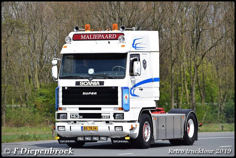 BD-TB-34 Scania 143 Maliepaard-BorderMaker - Retro Trucktour 2019