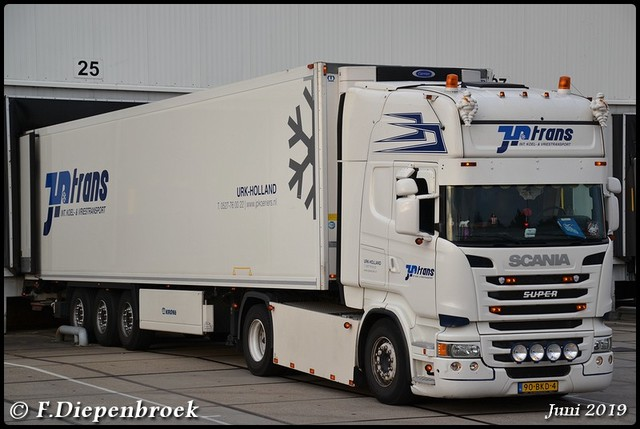 90-BKD-4 Scania R450 JP Trans-BorderMaker 2019