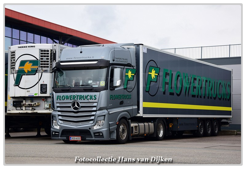 Flowertrucks XOO-605(0)-BorderMaker -