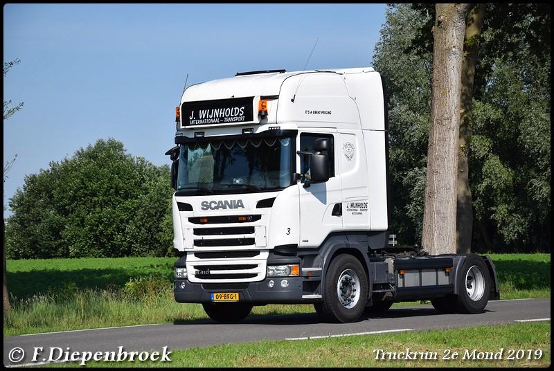 09-BFG-1 Scania R410 Wijnholds-BorderMaker - Truckrun 2e mond 2019