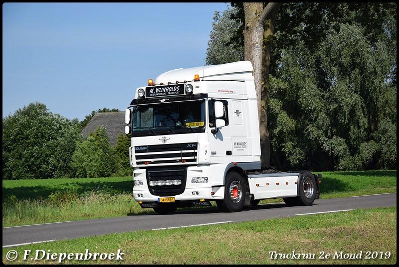 34-BBB-1 DAF 105 M Wijnholds-BorderMaker - Truckrun 2e mond 2019