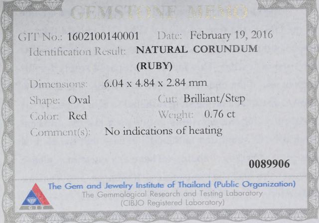 0.76-RU CERTIFICATES
