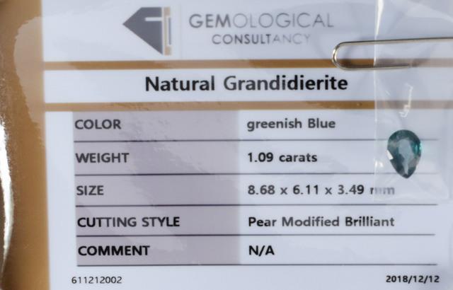 1.09-GR CERTIFICATES