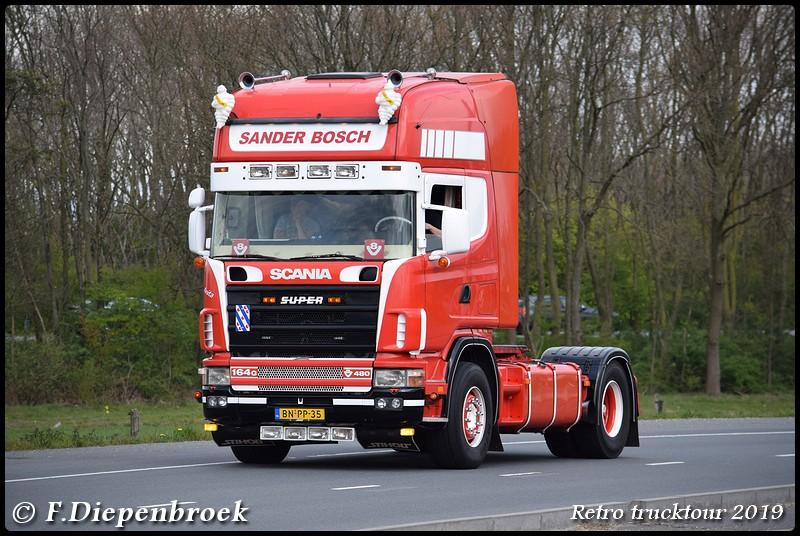 BN-PP-35 Scania 164 Sander Bosch-BorderMaker - Retro Trucktour 2019