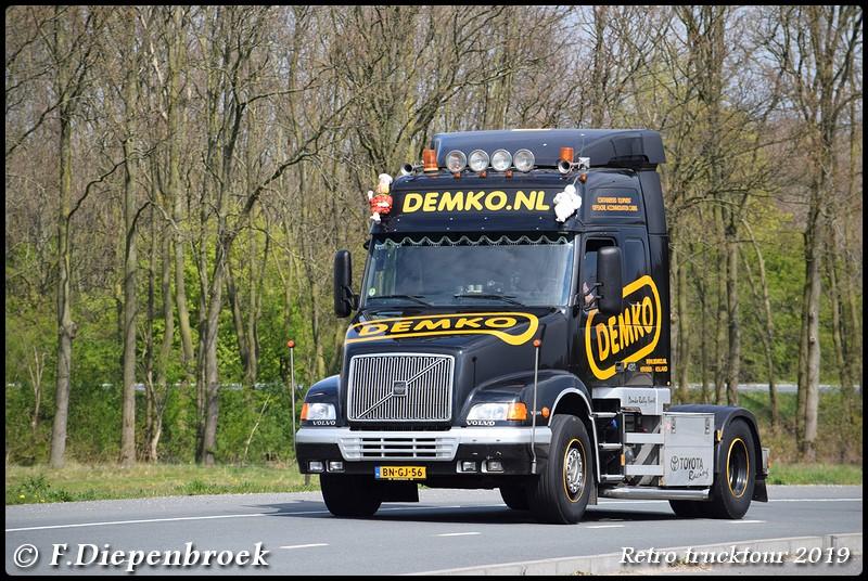 BN-GJ-56 Volvo NH12 Demko2-BorderMaker - Retro Trucktour 2019
