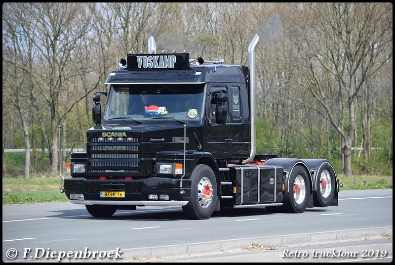 BZ-HL-16 Scania 143 Voskamp-BorderMaker - Retro Trucktour 2019