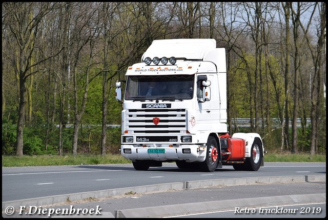 Scania 143-BorderMaker Retro Trucktour 2019