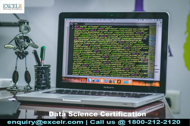 Data  ScienceCertification DATA SCIENCE CERTIFICATION