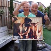 Diamond Painting gekregen v... - In de tuin 2019