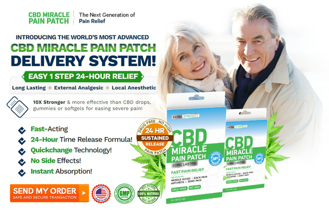 What is the CBD Miracle Pain Patch? CBD Miracle Pain Patch