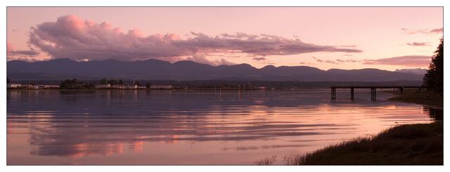 Comox Sunset Panorama 2019 Panorama Images