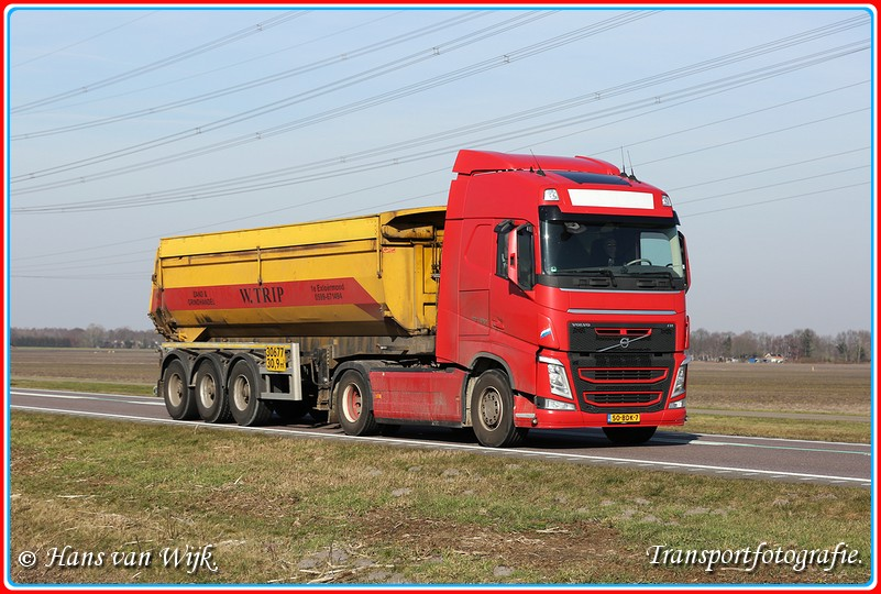 50-BDK-7  B2-BorderMaker - Kippers Bouwtransport