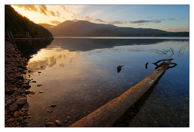 Comox Lake Fall 2019 1 Landscapes