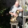 Ron en Dolly in de zon 26-1... - In de tuin 2019