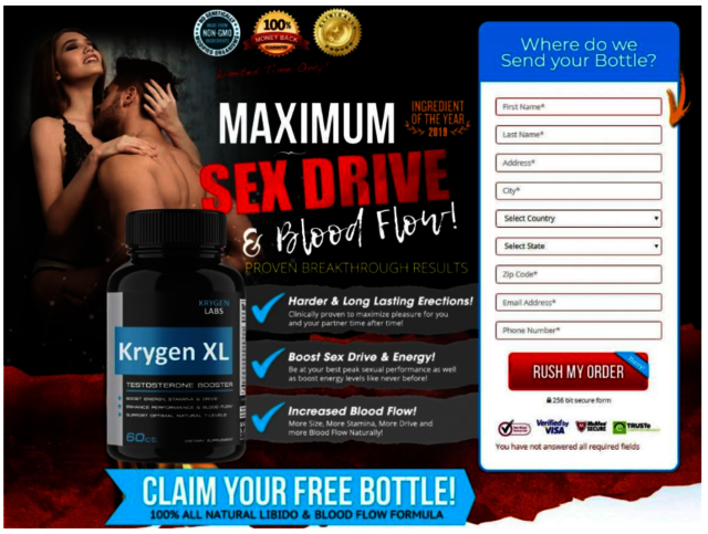 krygen Does Krygen XL UK Male Enhancement Support Work?