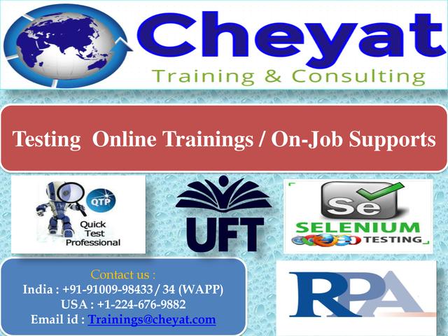 UFT Online Training UFT Online Training