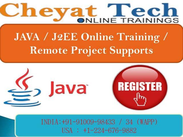 Java Online Training JAVA Online Training