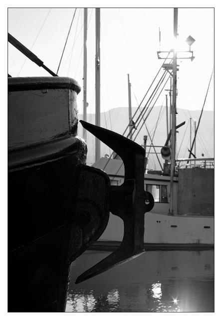Deep Bay 2020 1 Black & White and Sepia