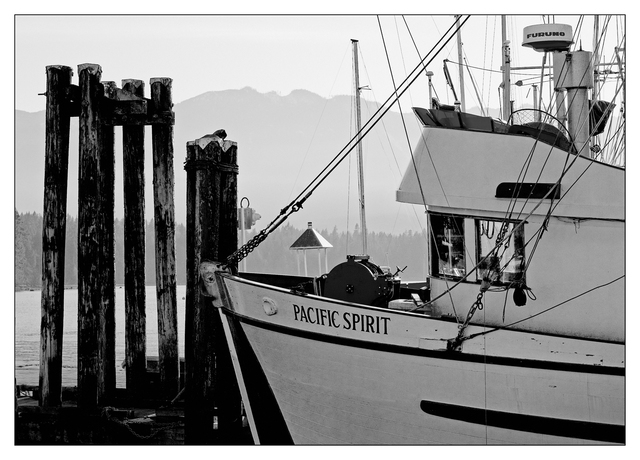 Deep Bay 2020 5 Black & White and Sepia