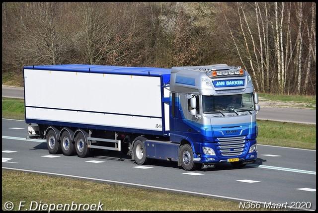 22-BNH-7 DAF 106 Jan Bakker-BorderMaker 2020