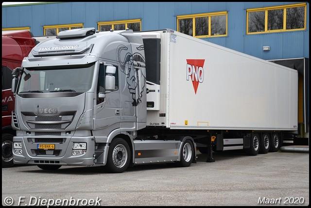 95-BNK-6 Iveco Stralis Jaks Trucking-BorderMaker 2020