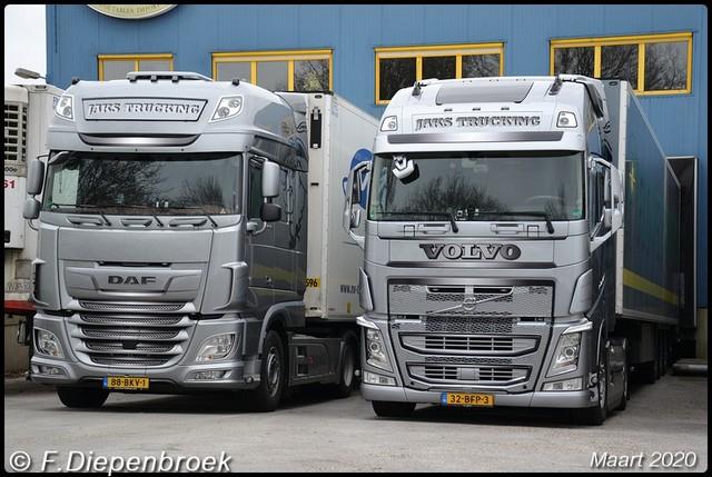 DAF en Volvo Jaks Trucking-BorderMaker 2020